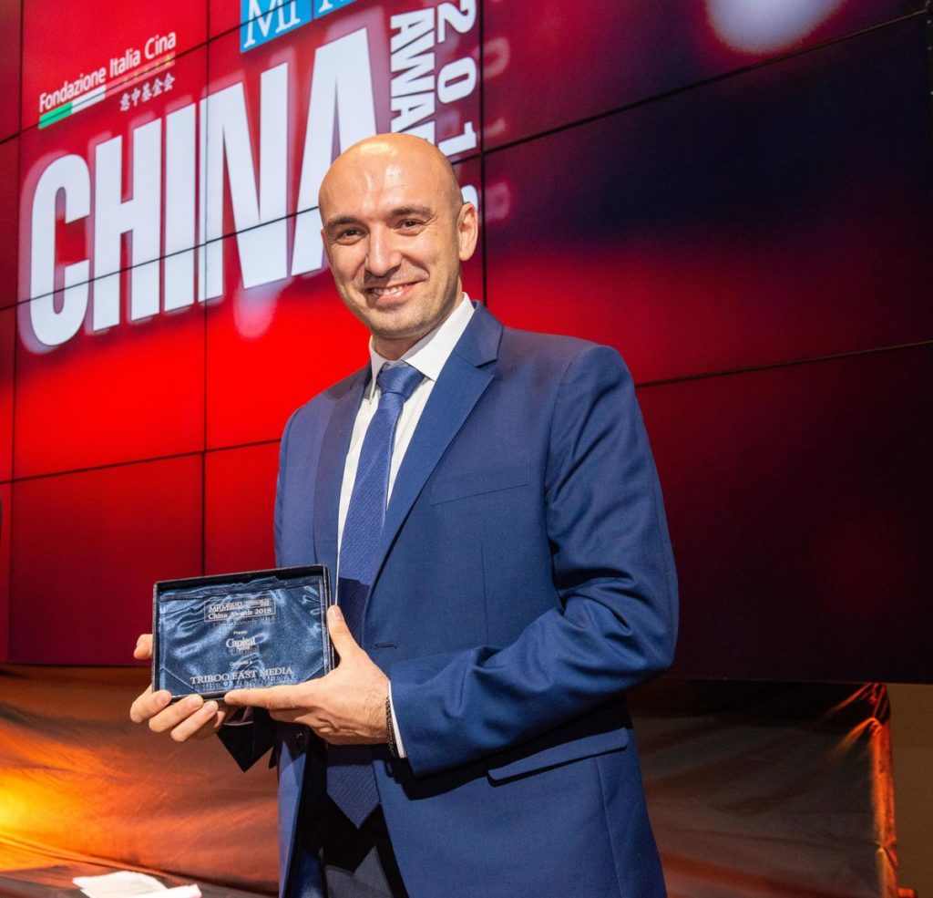 China Awards 2018 - Emanuele Vitali - Triboo East Media