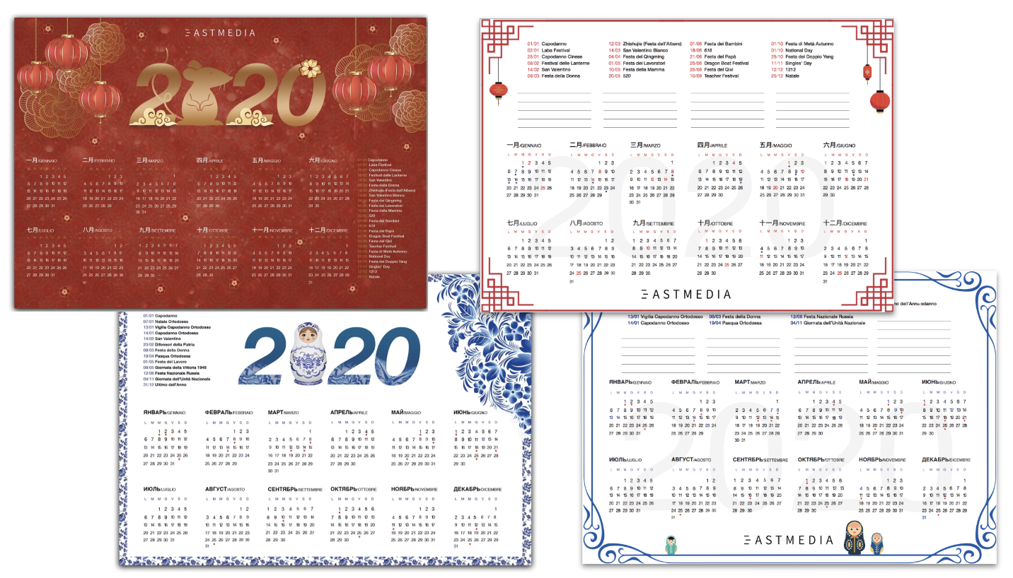Calendario cinese 2020 e festività russe: iniziative di marketing mirate
