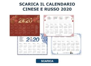calendari cina e russia 2020 Dragon Boat