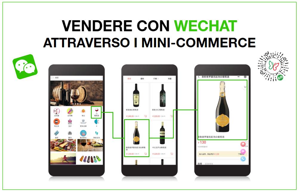 Vendere con WeChat