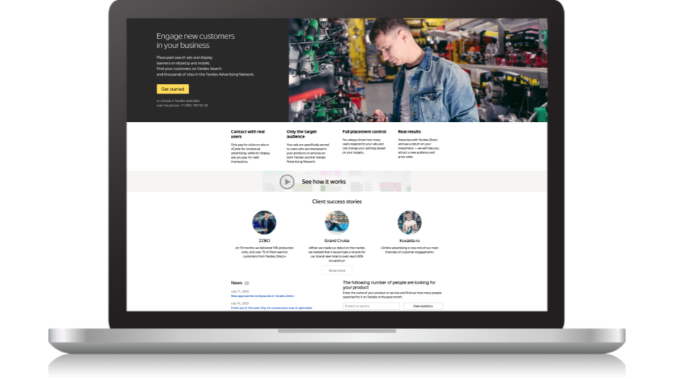 SEM su Yandex Direct