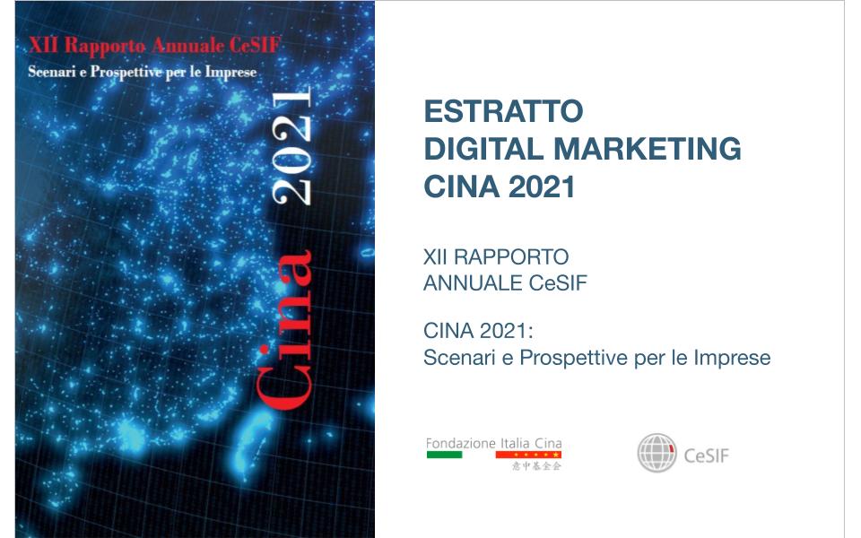 rapporto cina 2021